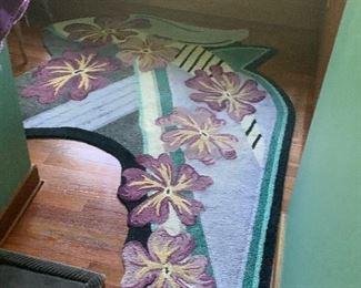 Custom room or hallway rugs