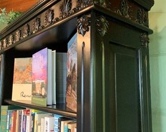 Gorgeous detail on the bookcase