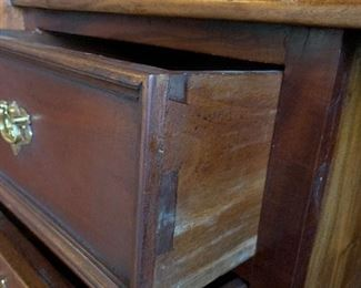 Construction is dovetail drawers on antique armoires