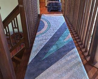 Custom rug by Turklington. Puffs of Petoskey