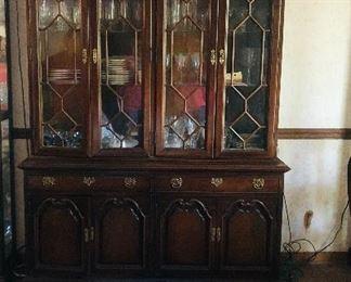 Thomasville  lighted china cabinet