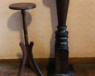fern stands/both hand made