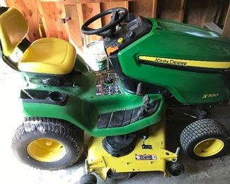 2017 John Deere 350, 22 HP, 103 hours