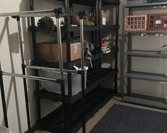 Practical shelving units