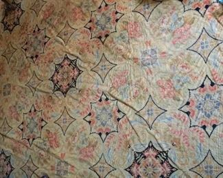 Hand Crafted Needle point Aubusson Carpet (Rug)