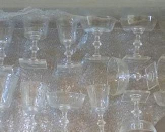 Set Steuben Cocktail Glasses