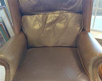 Berkline Leather recliner(s) 2 each