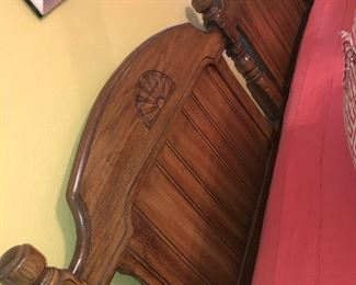 Mid Century King Size Bed