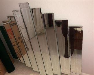 Modern Beveled Wall Mirror