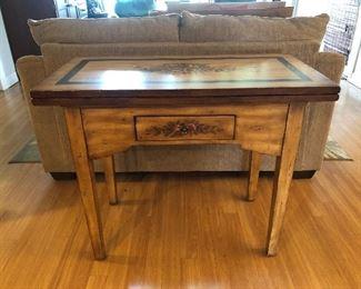 Beautiful Sofa Table makes into a Square Table