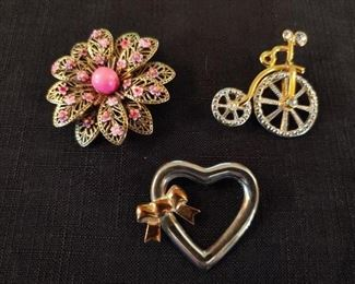 Dress pin collection