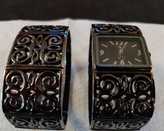 Bronze Bracelet and Watch set