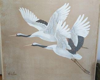 Original painting by Wing Lee