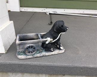 . . . cute piece of yard art