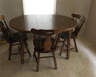 . . . a nice kitchen table and chairs