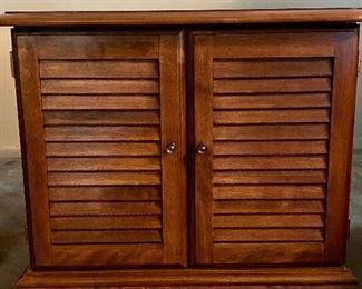 Vintage Ethan Allen Cabinet / Table