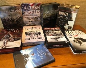 War / Military Box Dvd's