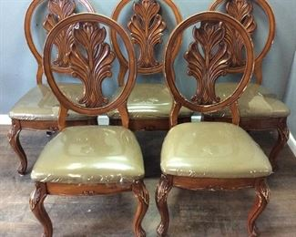 (5) DINING ROOM CHAIRS