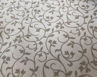12'X16' LOVELY PEAR BLOSSOM DESIGN AREA RUG