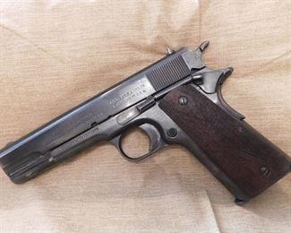 WW1 Colt Model 1911A1 U.S. Military 45(S.N. 112036/1915 Date)