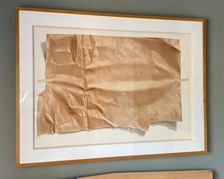 Large Signed and numbered print paper bag 32/150	41 x 56		D941