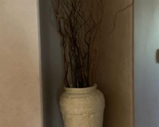 Decor Pot with branches	23in H x 12in diameter		19633