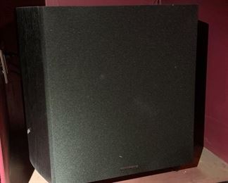 Monoprice 12in Powered Subwoofer #1			19622