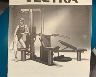 Vectra On-Line 1500 Workout Station Home Gym	83x116x60in	HxWxD	19583