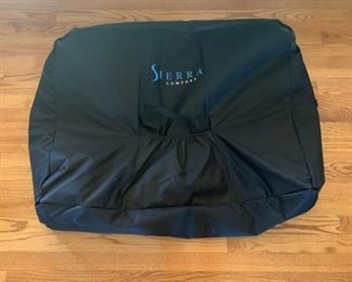 Sierra Comfort Fold-up Massage Table with Carrying Case	33x27x71	HxWxD	GD124
