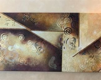 Large Canvas Art Ancient Path X by Mari Giddings	36x90x2	HxWxD	GD119