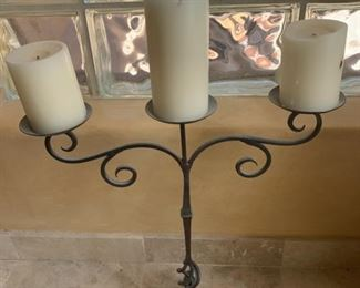 Metal 3-Tier Candle Holder	18x17x9	HxWxD	GD115