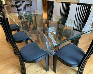 Contemporary Table & chairs Priced Separately