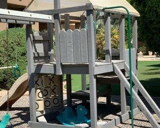 Huge Outdoor Kids Play structure Swing set Play Center	118x170x204in	HxWxD	19552