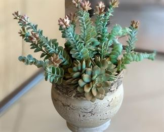 Small outdoor Faux Plant	12in H x 7in Diameter		19541