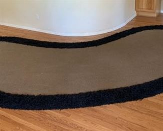 Huge Contemporary Shag Edge Rug	224x83in	 	19529