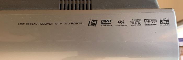 Sharp Sd-px2 1-bit Digital Receiver With Dvd Player	No Mount		19696