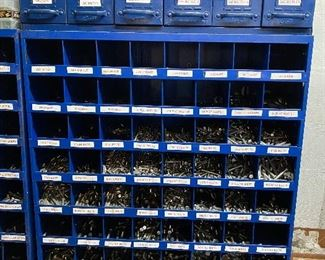 Nut and Bolt bins