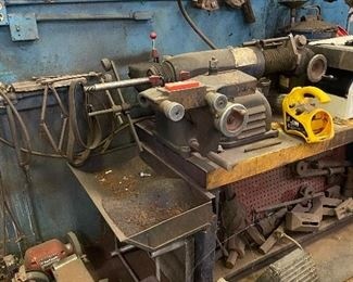 Ammco Brake Lathe and attachments
