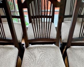 "Item 3:  (6) Boutique chairs - 18""l x 16""w x 42.5""h:  $600"