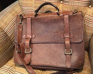 Orvis briefcase:  $65