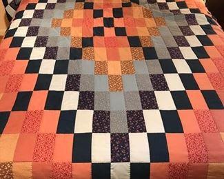 Full size handmade quilt