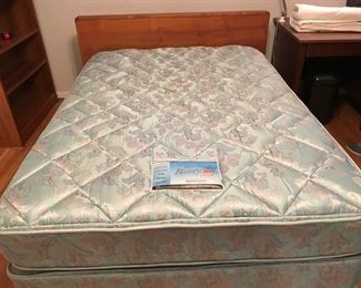 Full size Simmons mattress and box springs