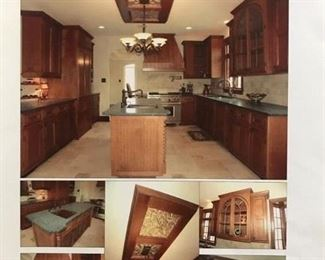 "AMAZING ONE-OF-A-KIND ""BRAND NEW"" ENTIRE KITCHEN!  KITCHEN CABINETRY, INTEGRATED APPLIANCES AND COUNTER TOPS!!!  STUNNING!!!  (ORIGINAL RETAIL OVER $110,000)  NOW AT 50% OFF OUR ALREADY LOW PRICE!"
