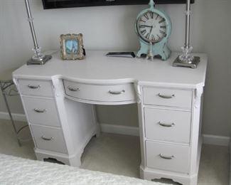 $75.00, Shabby Chic painted desk vanity