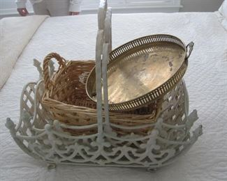 Baskets and decor