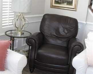 $250.00, Pottery Barn leather Chair