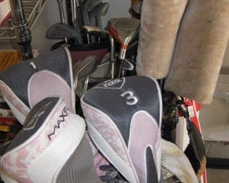 more golf clubs