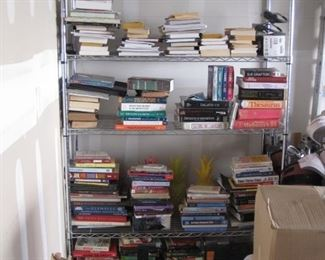 Shelving books