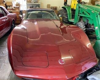 1976 L48 Corvette with t-tops.  Runs and drives wonderfully