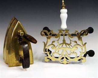 2 mid 19th century tools/accessories